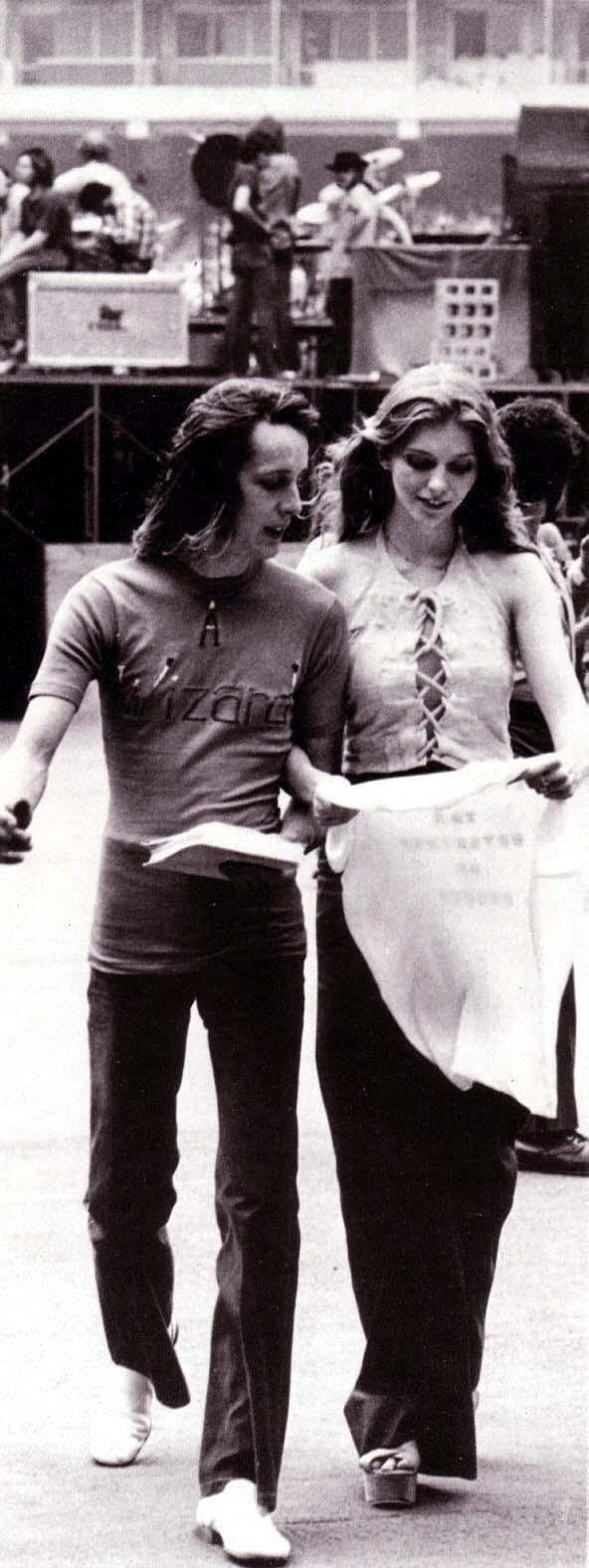 Bebe Buelle et Todd Lundgren