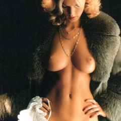 Brigitte Lahaie in fur